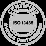 ISO 13485 badge